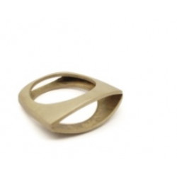 Design ring, messing