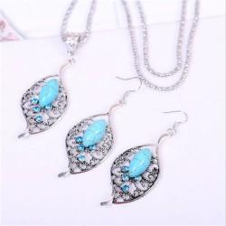 smykkesæt turkiser