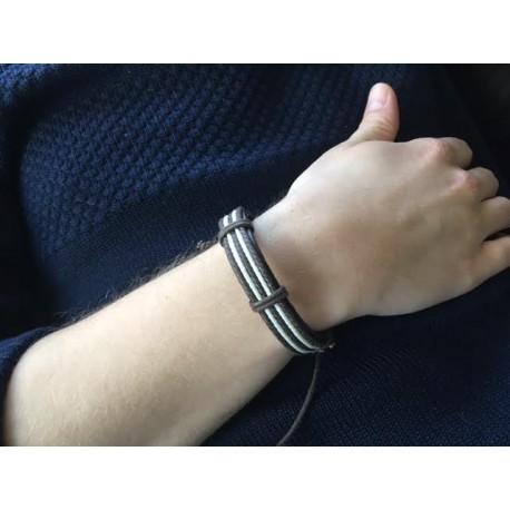 armbånd flettet